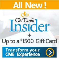 CMEinfo Insider Charter Membership with up to $1500 Gift Card