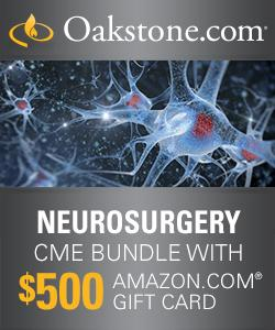 Neurosurgery CME Online Bundle with $500 Amazon Gift Card Comprehensive Review – Journal Summaries