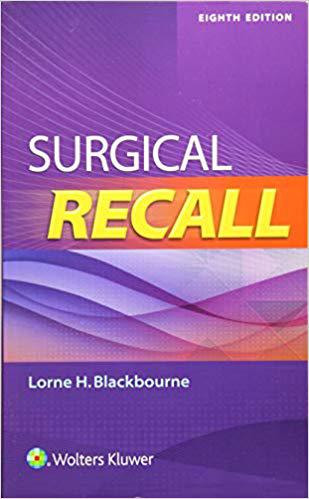 Surgical Recall Eighth, North American Edition