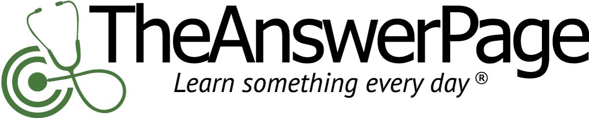 TheAnswerPage    -CME/CE