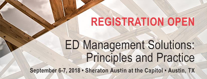 AAEM ED Management Solutions: Principles and Practice