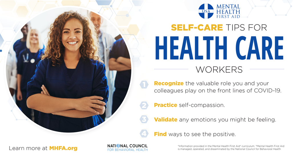 Self-Care Tips for Health Care Workers