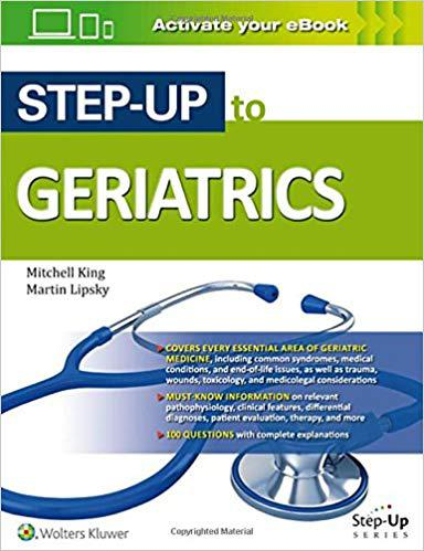 Step-Up to Geriatrics (Step-Up Series) First Edition
