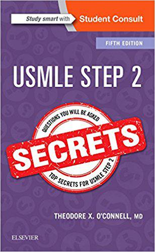 USMLE Step 2 Secrets, 5e 5th Edition