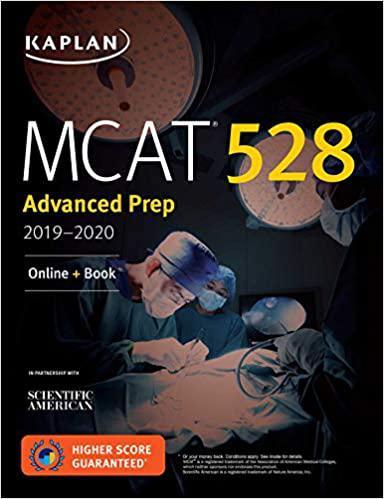 MCAT 528 Advanced Prep 2019-2020: Online + Book (Kaplan Test Prep)