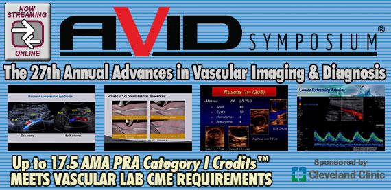 27th Annual Advances in Vascular Imaging & Diagnosis