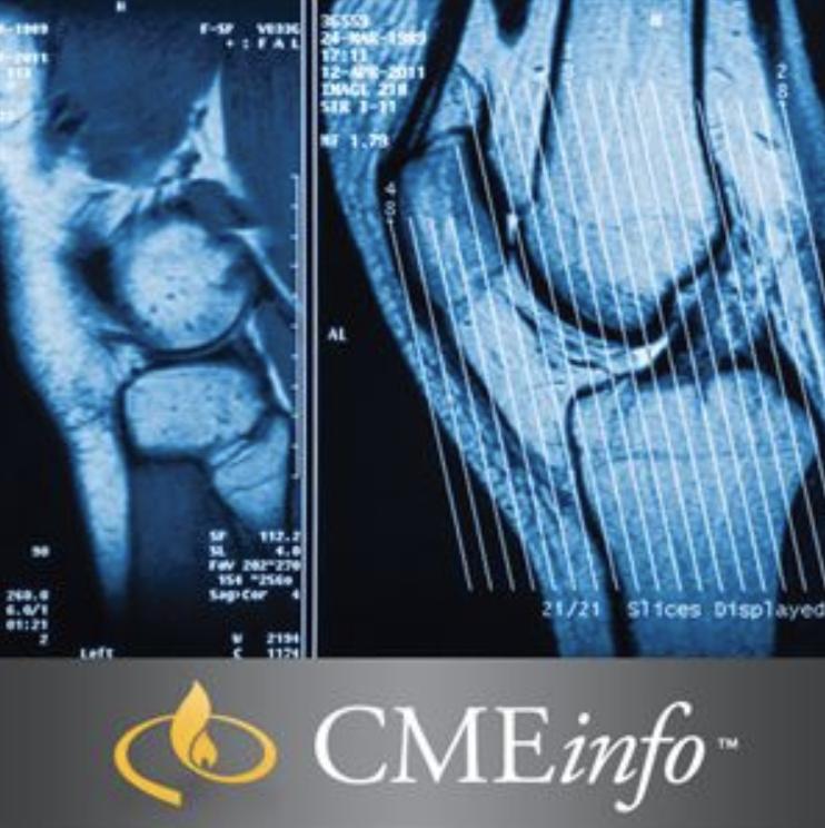 UCSF Musculoskeletal MRI: University of California San Francisco Clinical Update