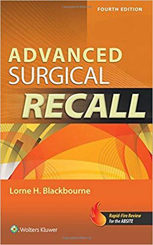 Advanced Surgical Recall, 4e (Recall Series)