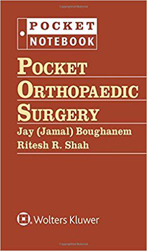 Pocket Orthopaedic Surgery (Pocket Notebook Series) First Edition