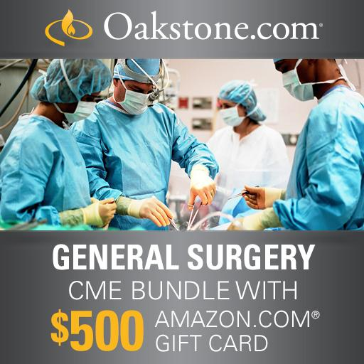 General Surgery CME Online Bundle: Two Review Programs – Journal Summaries – $500 Amazon Gift Card