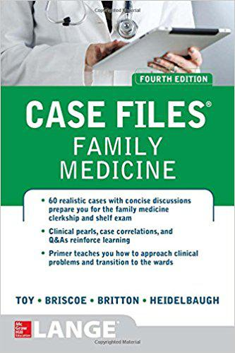 Case Files Family Medicine, Fourth Edition 4th Edition