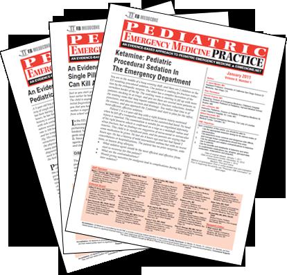 Pediatric Emergency Medicine Practice –  Print & Online Emergency Medicine CME Journal