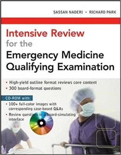 Intensive Review for the Emergency Medicine Qualifying Examination