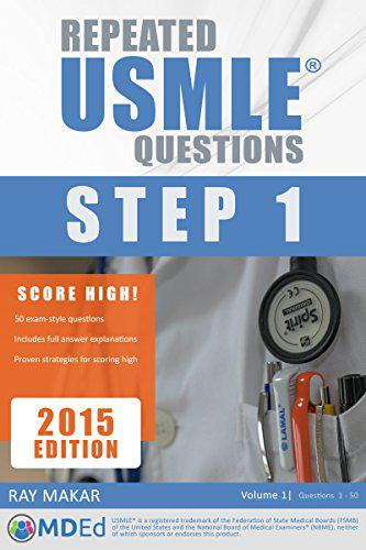 Repeated USMLE Questions: USMLE Prep (Step 1) Kindle Edition