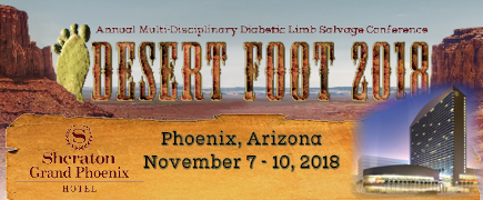 Desert Foot 2018 Conference