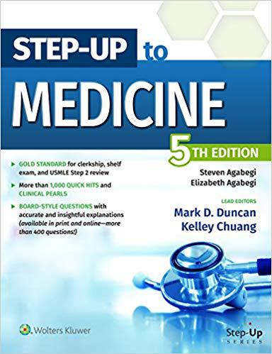 Step-Up to Medicine (Step-Up Series) Fifth, North American Edition