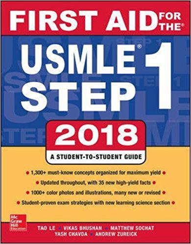 First Aid for the USMLE Step 1 2018, 28th Edition 28th Edition