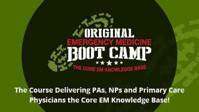 Emergency Medicine Boot Camp Self-Study Course