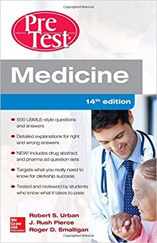 Medicine PreTest Self-Assessment and Review, Fourteenth Edition 14th Edition