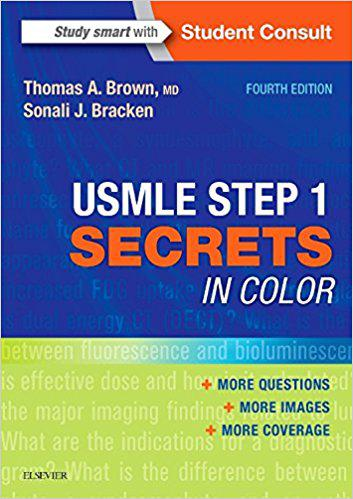 USMLE Step 1 Secrets in Color, 4e 4th Edition