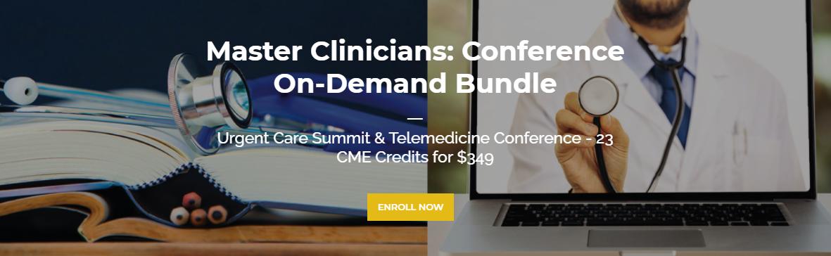 Urgent Care & Telemedicine CME Bundle