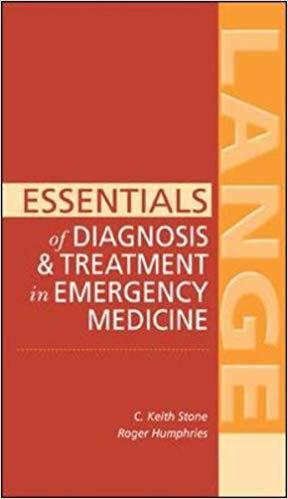 Essentials of Diagnosis & Treatment in Emergency Medicine (LANGE Essentials) 1st Edition