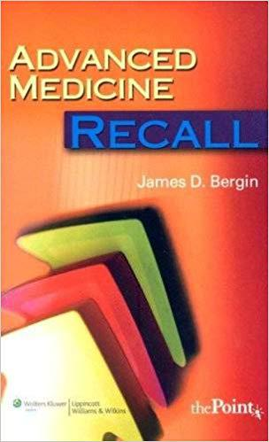 Advanced Medicine Recall (Recall Series) 1st Edition