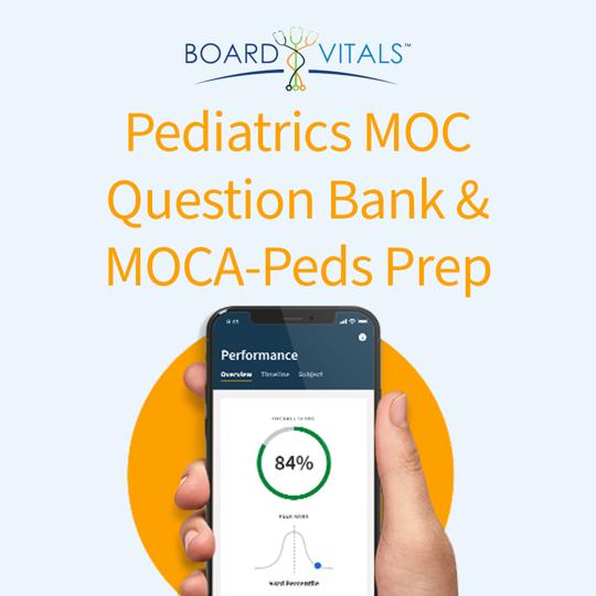 BoardVitals ABP Pediatrics MOC Question Bank and MOCA-Peds Prep