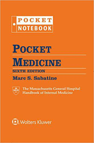 Pocket Medicine: The Massachusetts General Hospital Handbook of Internal Medicine 6th Edition