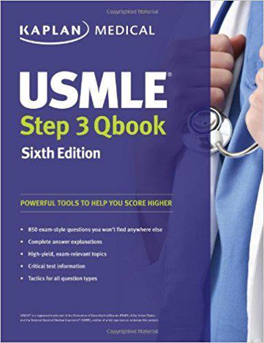 USMLE Step 3 QBook (USMLE Prep)SIXTH EDITION Sixth Edition