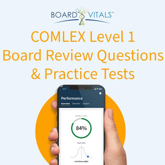 BoardVitals COMLEX Level 1 Board Review Question Bank