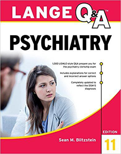 Lange Q&A Psychiatry, 11th Edition 11th Edition