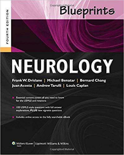 Blueprints Neurology (Blueprints Series) Fourth Edition