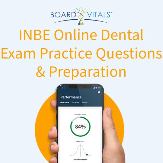 BoardVitals INBDE Board Review Question Bank